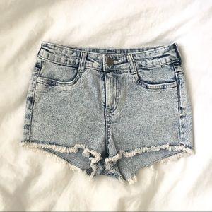 H&M Highwaisted Shorts Size 4.